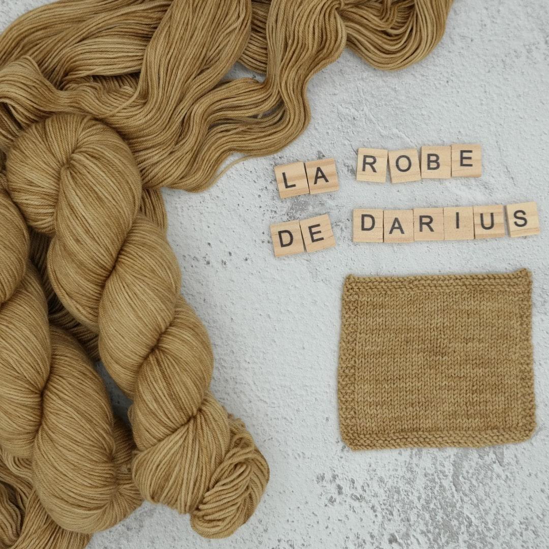 La robe de Darius - MÉRINOS SUPERWASH - Fingering