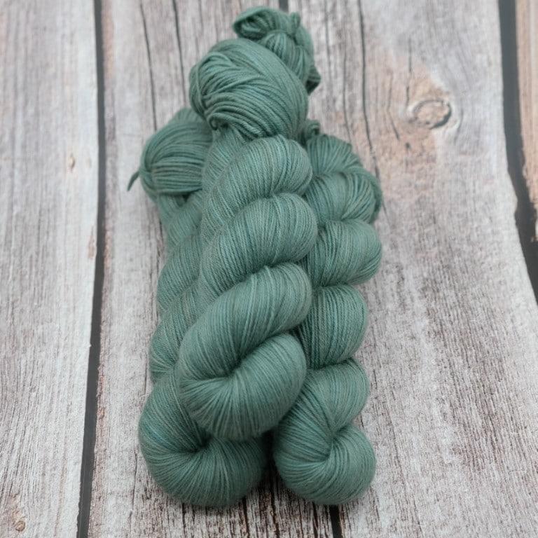 Vert de Gris • Mérinos extrafin SW • Fingering