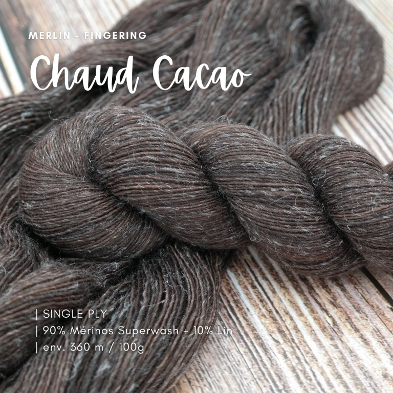 Chaud Cacao | MerLin Fingering